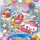 Kamio Ice Chan Sweet Desserts Sticker Sack Kawaii