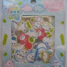 San-X Blue Mamegoma Baby Seals Sticker Sack Kawaii