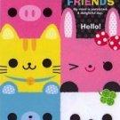 Kamio Japan Cutie Cube Friends Large Memo Kawaii