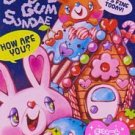 Q-Lia Bubble Gum Sundae Large Memo Pad Kawaii