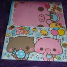 Kamio Snack Time Sweets Piglet and Friends Letter Set Kawaii