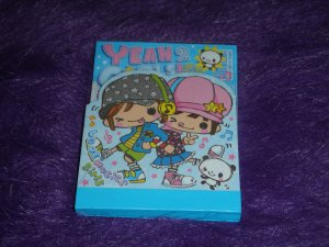 Q-Lia Yeah Yeah Girls Mini Memo Kawaii