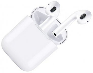 Wireless Charging Touch Control Earbud for iPhone, iPad