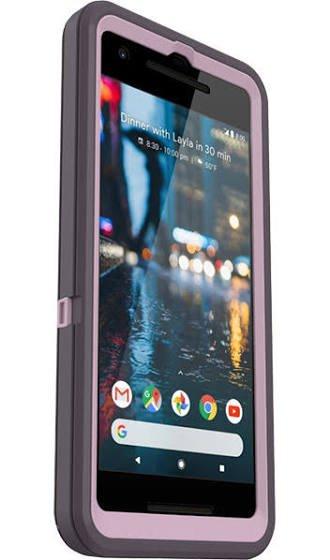 Purple Defender Case for Google Pixel 2 (Not XL)