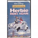 DISNEY'S HERBIE RIDES AGAIN VHS TAPE