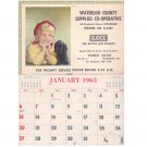 Waterloo Ontario Co-Op 1963 Vintage Calendar