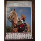 Perrin's Garage - Waterloo Ontario 1964 Vintage Calendar