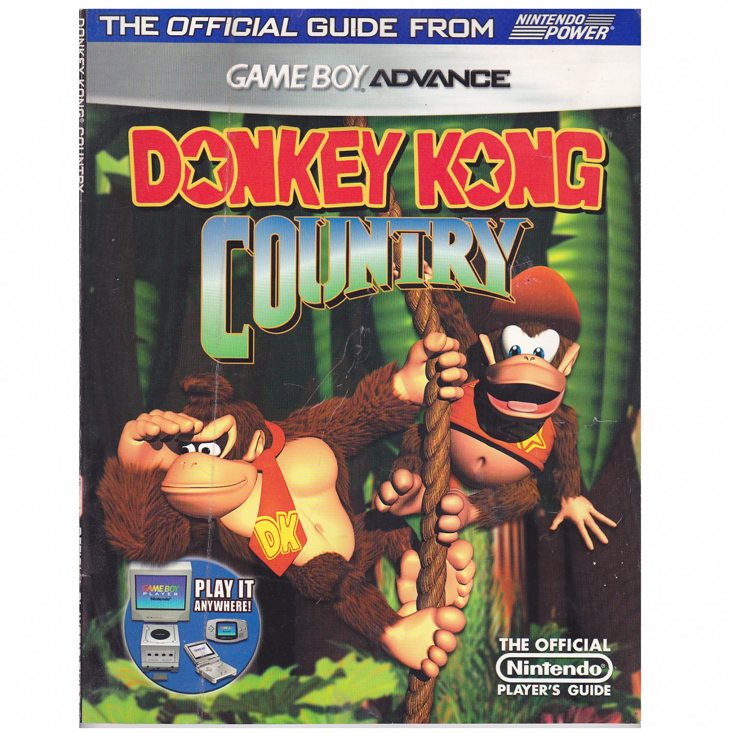 Donkey Kong Country Official Guide Game Boy Advance