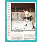 1966-67 General Mills Gordie Howe Hockey Action Photo