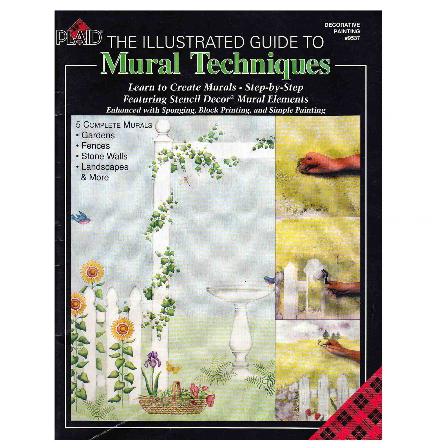 THE ILLUSTRATED GUIDE TO MURAL TECHNIQUES BOOK