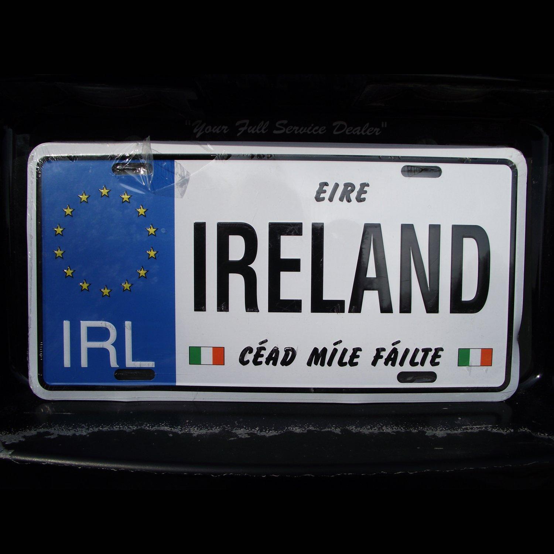 Ireland Souvenir Plate