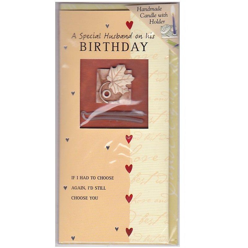 A SPECIAL HUSBAND ON HIS BIRTHDAY GREETING CARD