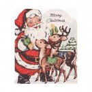 Vintage Merry Christmas Greeting Card