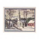 Vintage Veribest Christmas Greeting Card