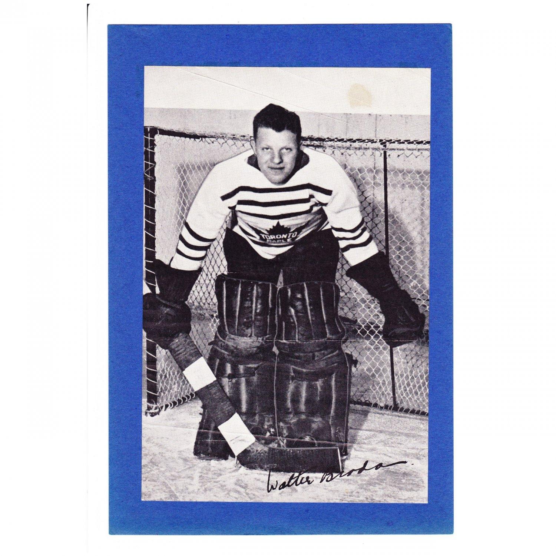 Bee Hive Group l Walter Broda Hockey Photo Card