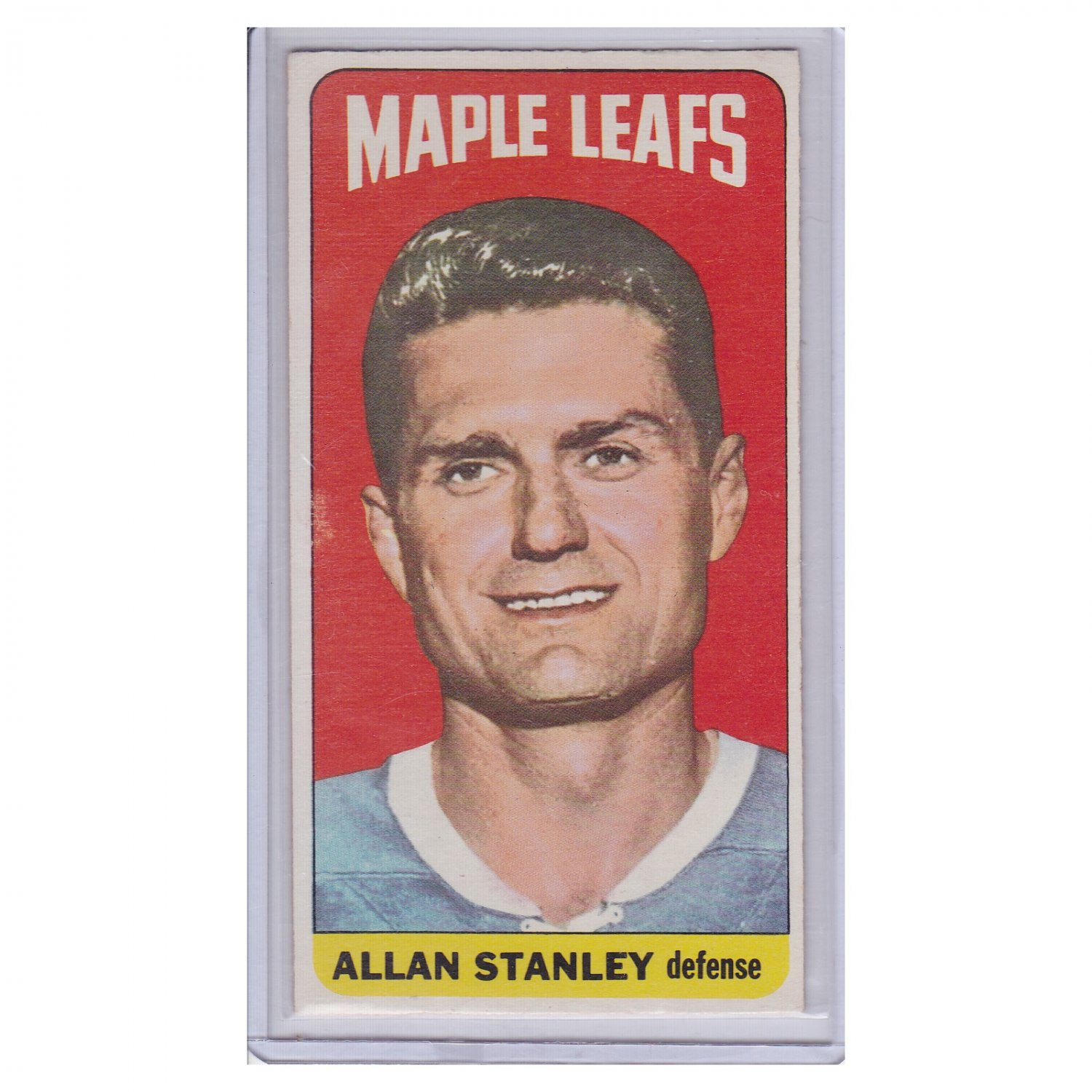 Toronto Maple Leafs Allan Stanley #104 Topps 1964 Hockey Card