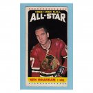 Ken Wharram #108 Topps 1964 Tall Boys All Star Hockey Card
