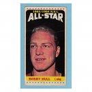 Bobby Hull #107 Topps 1964 Tall Boys All Star Hockey Card