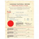 Vintage 1935 Agricultural Dairy Documents