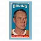 Boston Bruins Tom Johnson #101 Topps 1964 Hockey Card
