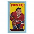 Montreal Canadiens Bill Hicke #98 Topps 1964 Hockey Card