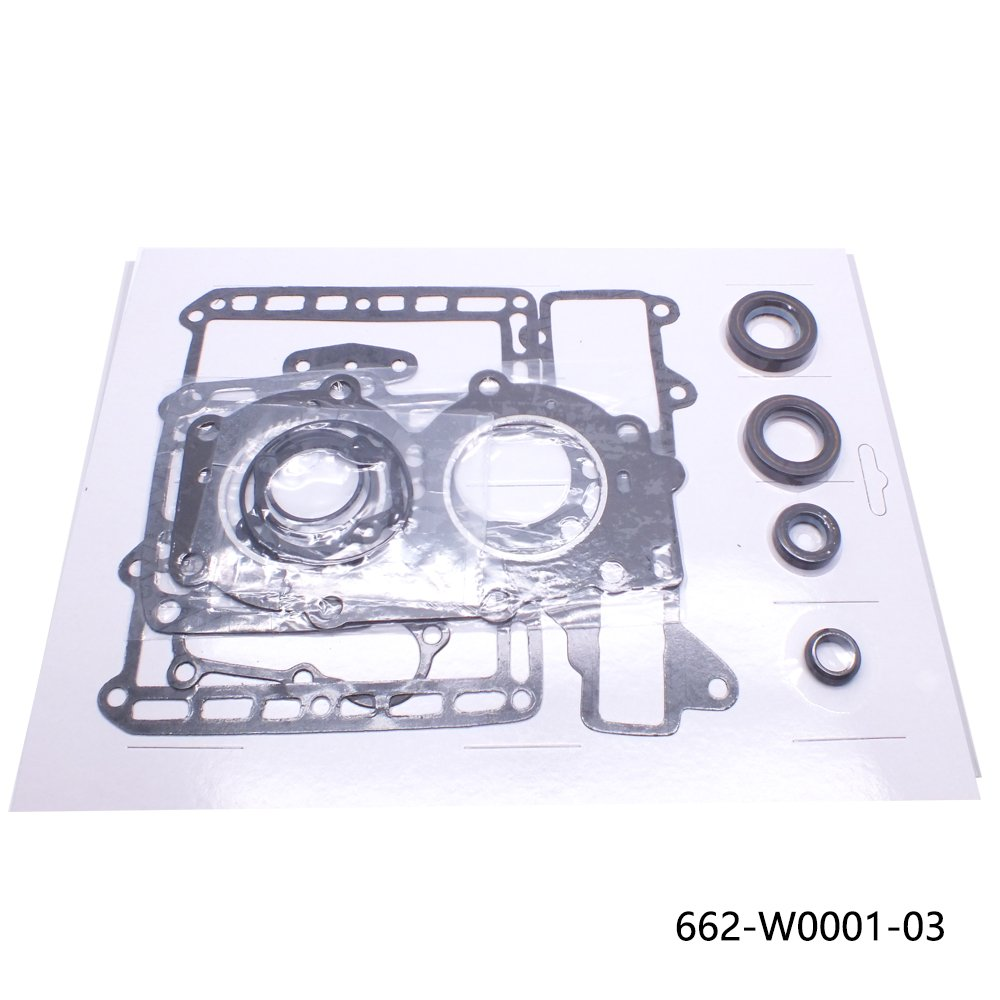 662-W0001-03 OUTBOARD GASKET SET FOR YAMAHA OUTBOARD ENGINE 9,9HP-15HP