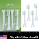 4 Philips Sonicare DiamondClean HX6064 Toothbrush Heads Replacement w/ package