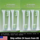 8 White Replacement Heads For Philips Sonicare DiamondClean HX6064 Toothbrush