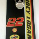 NASCAR #22 Joey Logano Wall Mounted Bottle Opener-NASCAR Bottle Opener