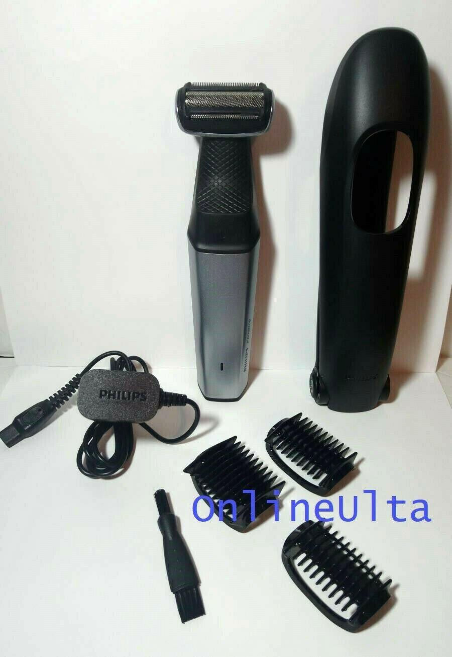 Philips Norelco Bodygroom Series 3500 BG5025 Groomer Shaver OPEN BOX GENUINE