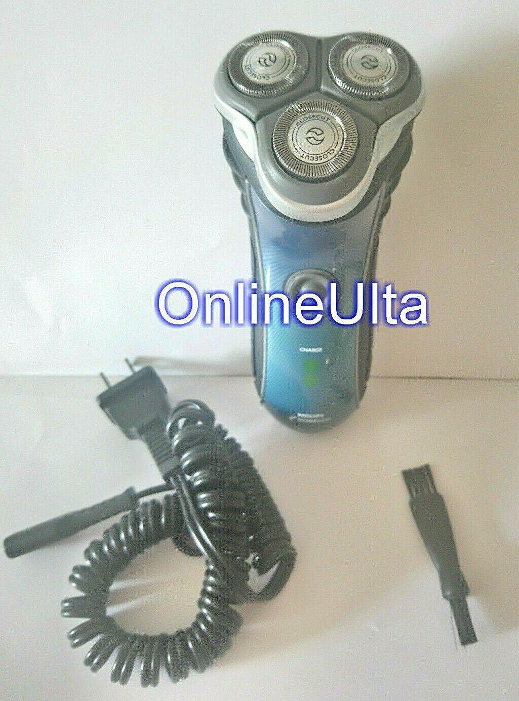 Philips Norelco 7340XL Quadra Action Men's Shaver trimmer corded Close cut