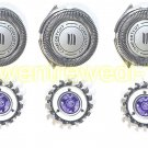 For Philips Norelco HQ8 Spectra 8 & Sensotec Shaver Replacement Heads  3X