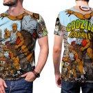 Godzilla Vs Charles Barkley Mens T-Shirt Tee