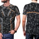 Iron Man Tony Stark Nanotech Mens T-Shirt Tee