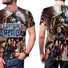 The Avengers Endgame Captain America Mens T-Shirt Tee