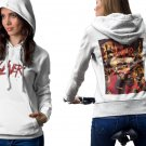 Slayer Reign In Blood White Men's Classic Hoodie