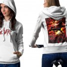 Slayer, Nuclear Blast Usa White Men's Classic Hoodie