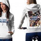 The Avengers Endgame Captain America White Men's Classic Hoodie
