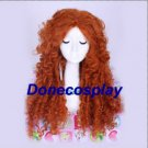 On sale--Princess Brave Merida cosplay wig halloween women cosplay wig