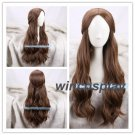 Beauty and the Beast Belle Brown Wig Body Wave Long Wig Cosplay BW for Halloween