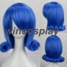 Fairy Tail  cosplay wig  Juvia Lockser Cosplay wig juvia blue cosplay wig women blue wig