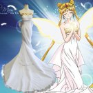 Any sizes Sailor Moon Princess Serenity Tsukino Usagi Cosplay Costume halloween dress costume