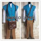 Tangled prince cosplay costume Flynn Rider costume Adult size Kids Size