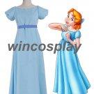 Peter Pan Wendy cosplay costume Wendy cosplay dress halloween adults cosplay costume