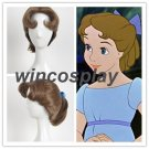 Peter Pan Wendy cosplay wig Wendy cosplay wig halloween adults cosplay wig