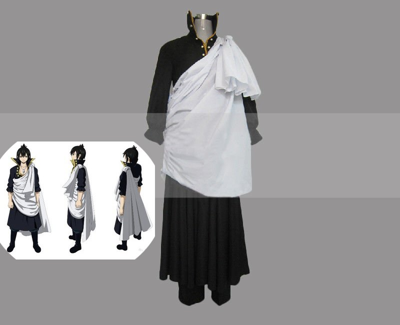 Fairy Tail Cosplay Fairy Tail Zeref Cosplay Costume Halloween Full Set
