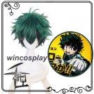 Short Layer Anime My Hero Academia Midoriya Izuku Cosplay Wig halloween male cosplay wig