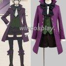 Kuroshitsuji Black Butler Alois Trancy Anime Cosplay Costume