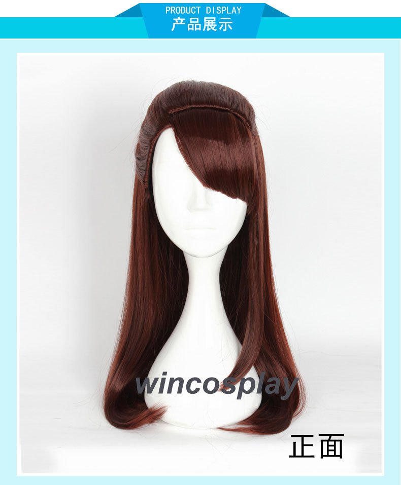 Little Witch Academia Akko Kagari Cosplay wig Anime Cosplay wig halloween women cosplay wig
