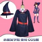 Little Witch Academia Akko Kagari Dress Uniform Outfit Anime Cosplay Costume custom made any sizes